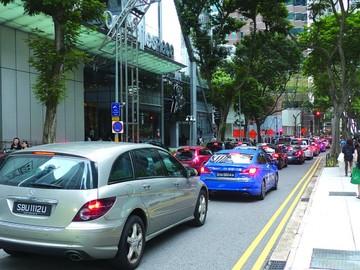 Singapur declara guerra a intenso tráfico callejero