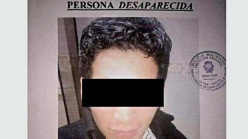 Joven desaparecido falleció por enfriamiento