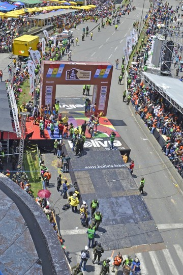 El Hernando Siles será el epicentro del paso del Dakar