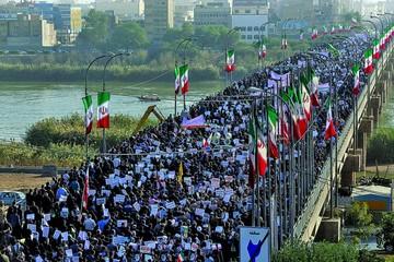 Irán: Gobierno organiza marcha en defensa del régimen religioso