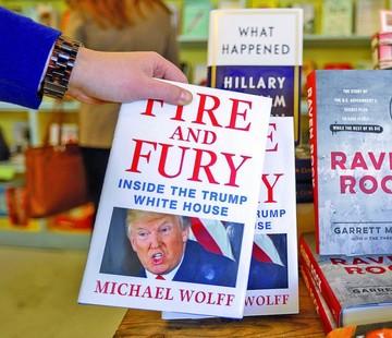 Trump estalla en ira tras la publicación de libro
