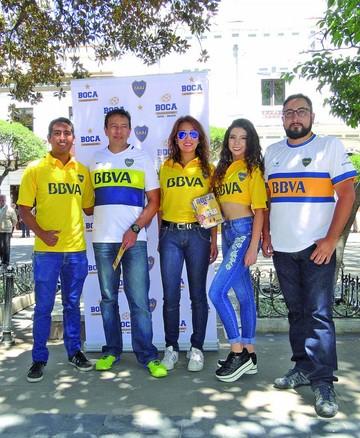 Boca abre escuela en Sucre