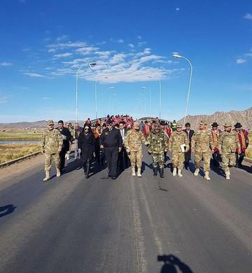 Bolivia y Perú coordinan tareas en la frontera