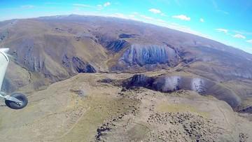 Oruro: Descubren muros con figuras gigantescas