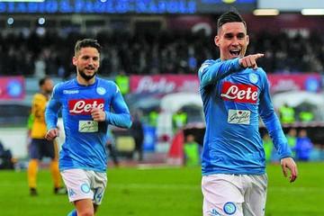Nápoles confirma su liderato en la Serie A italiana