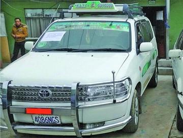 Encuentran en Villazón un vehículo robado en El Alto