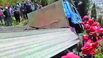 Muere conductor de un camión con ladrillos en El Alto
