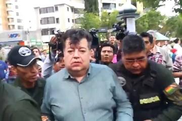 Ex alcalde de Cochabamba protagoniza un incidente cuando conducía ebrio