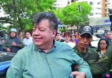 """El """"Cholango"""" detenido ebrio durante protesta"""