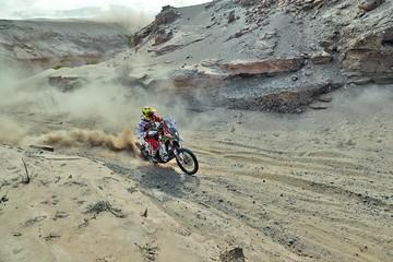 El Team Bolivia no cedió puestos en la cuarta etapa