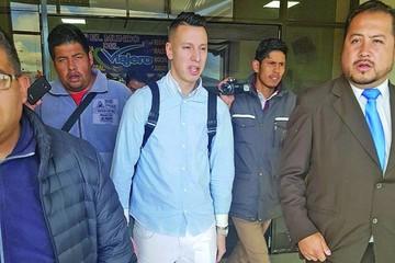 Smedberg llega a La Paz para incorporarse a Bolívar