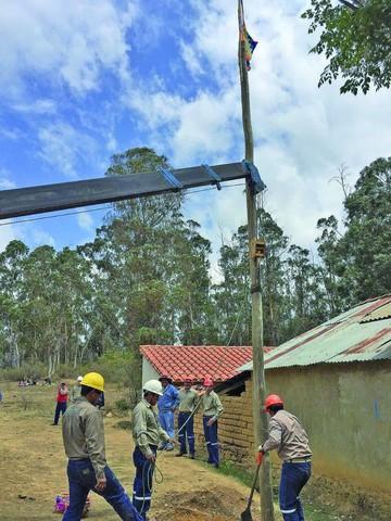 Cobertura de electricidad crecerá 10% en tres años