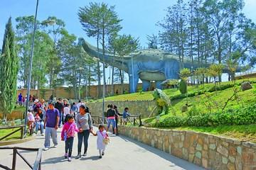 Parque Cretácico recibe a más de 191 mil visitantes