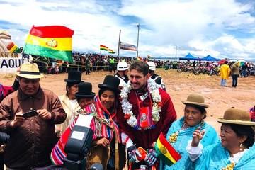 El Dakar llega a La Paz con Daniel Nosiglia séptimo en la sexta etapa del rally