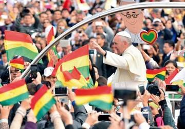 Chile pide a Evo cuidar la lengua sobre el Papa