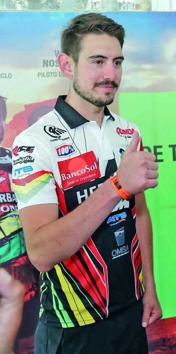 Daniel Nosiglia el piloto que encabeza el Team Bolivia