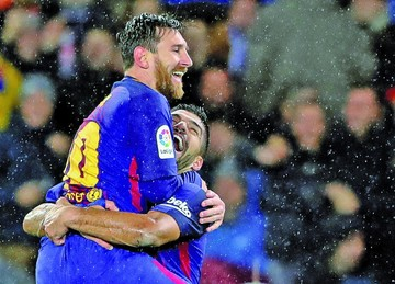 El Barça, una demoledora