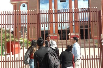 Puertas cerradas en la Universidad por paro de docentes y administrativos