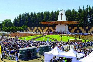 Papa habla de injusticia en visita al sur de Chile