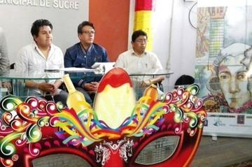Este fin de semana se abre el Carnaval Grande de Sucre