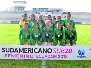 La Verde femenina suma su primer punto en la Sub 20