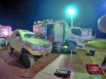 El Dakar se queda sin chuquisaqueños