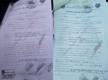 Certificados revelan que Jesús murió el 4 y Carla el 11 por hemorragia cerebral