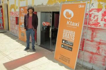 """Juventud emprendedora quiere revolucionar Sucre con """"KTaxi"""""""