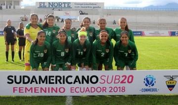 Sub 20: Bolivia vuelve a caer