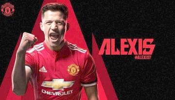 Manchester United confirma el pase de Alexis Sánchez