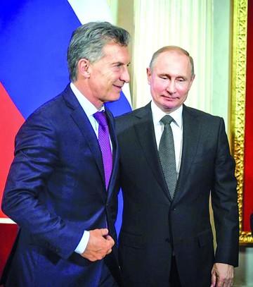 Putin y Macri acuerdan promover las inversiones