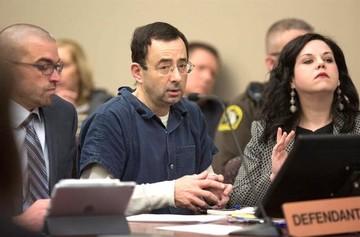 Condena de 40 a 175 años de cárcel a ex médico del equipo gimnástico de EEUU