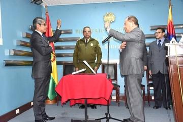 Wilfredo Chávez asume el cargo de Viceministro de Seguridad Ciudadana