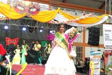 Ángela Gonzáles es coronada como flamante Reina del Carnaval Infantil 2018