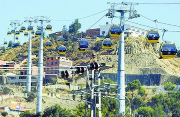 Teleférico de La Paz entra a Récords Guinness 2018