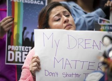"""Los """"dreamers"""", en el centro del debate"""