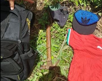 Santa Cruz: Hallan armas y las relacionan con crimen