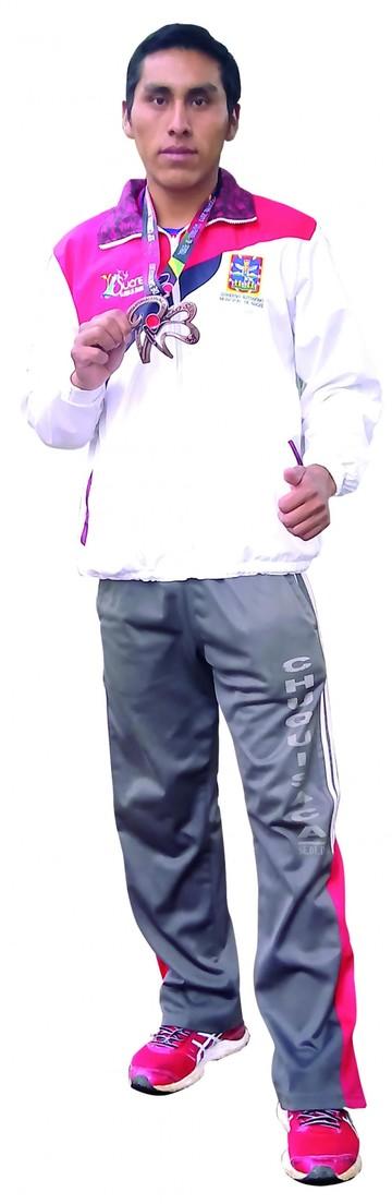 Pedro Koragua el chuquisaqueño que corrió en San Silvestre
