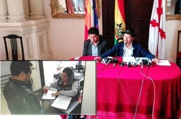 Presentan solicitud de revocatoria de mandato para gobernador Esteban Urquizu