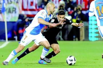 Sevilla y Leganés empatan y siguen con posibilidades