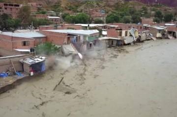 Reportan dos muertos y 100 familias damnificadas en Tupiza por las lluvias