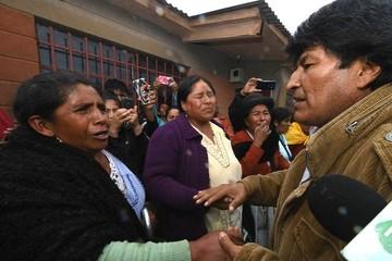 Evo garantiza construcción de casas en Tupiza y confirma un muerto en Cotagaita