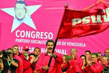 Maduro recibe apoyo de su partido para presidenciales 2018