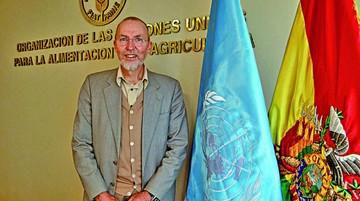 Theodor Friedrich asume representación de la FAO