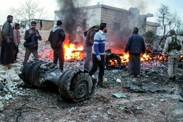 Rebeldes sirios derriban avión ruso