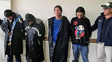 Encarcelan a colombianos por robo en Cochabamba