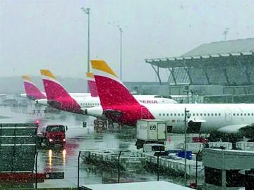 España soporta intenso temporal de nieve y frío