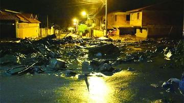 Alud sorprende a Tiquipaya y sube número de afectados