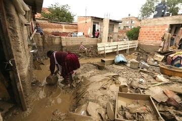 Gobierno declara en emergencia a pueblos afectados por riadas