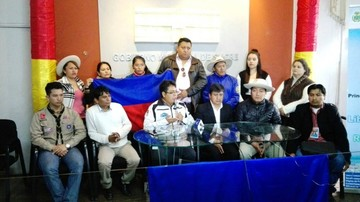 Residentes tupiceños de Sucre envían donativos en dos volquetas